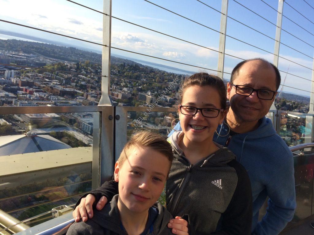 Seattle em 3 dias com crianças city