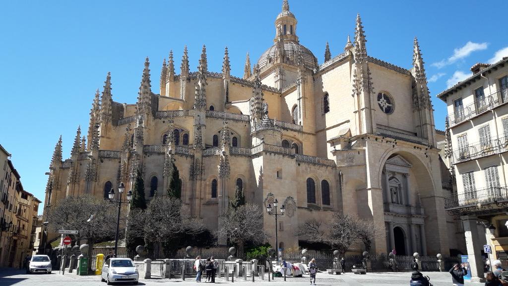 Catedral de Segóvia gotica