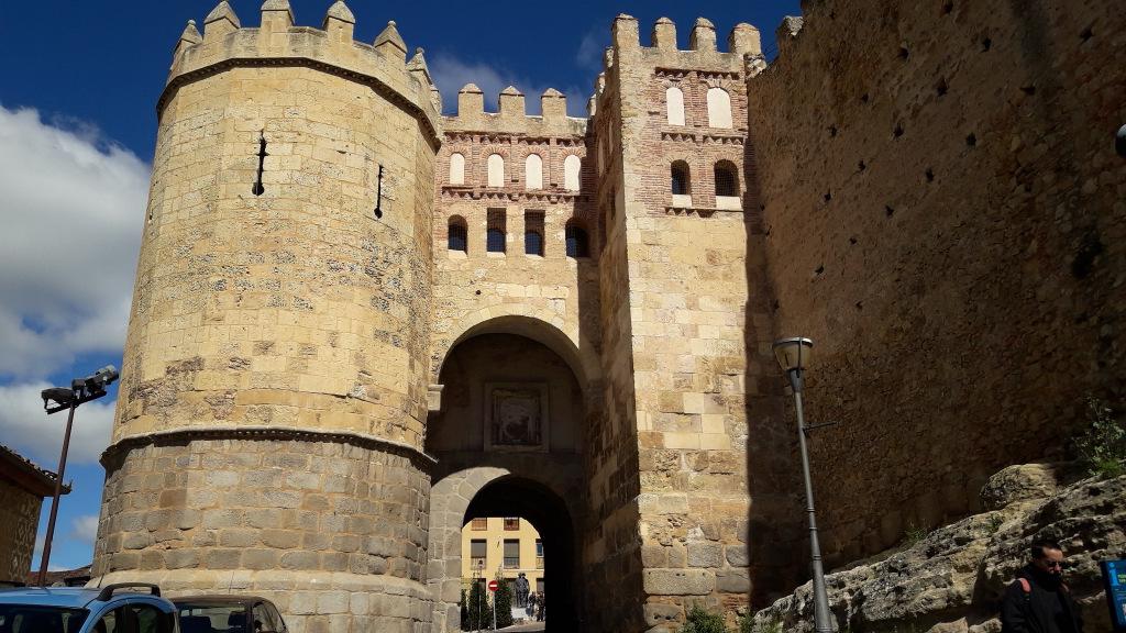 Porta de San Andres Segóvia