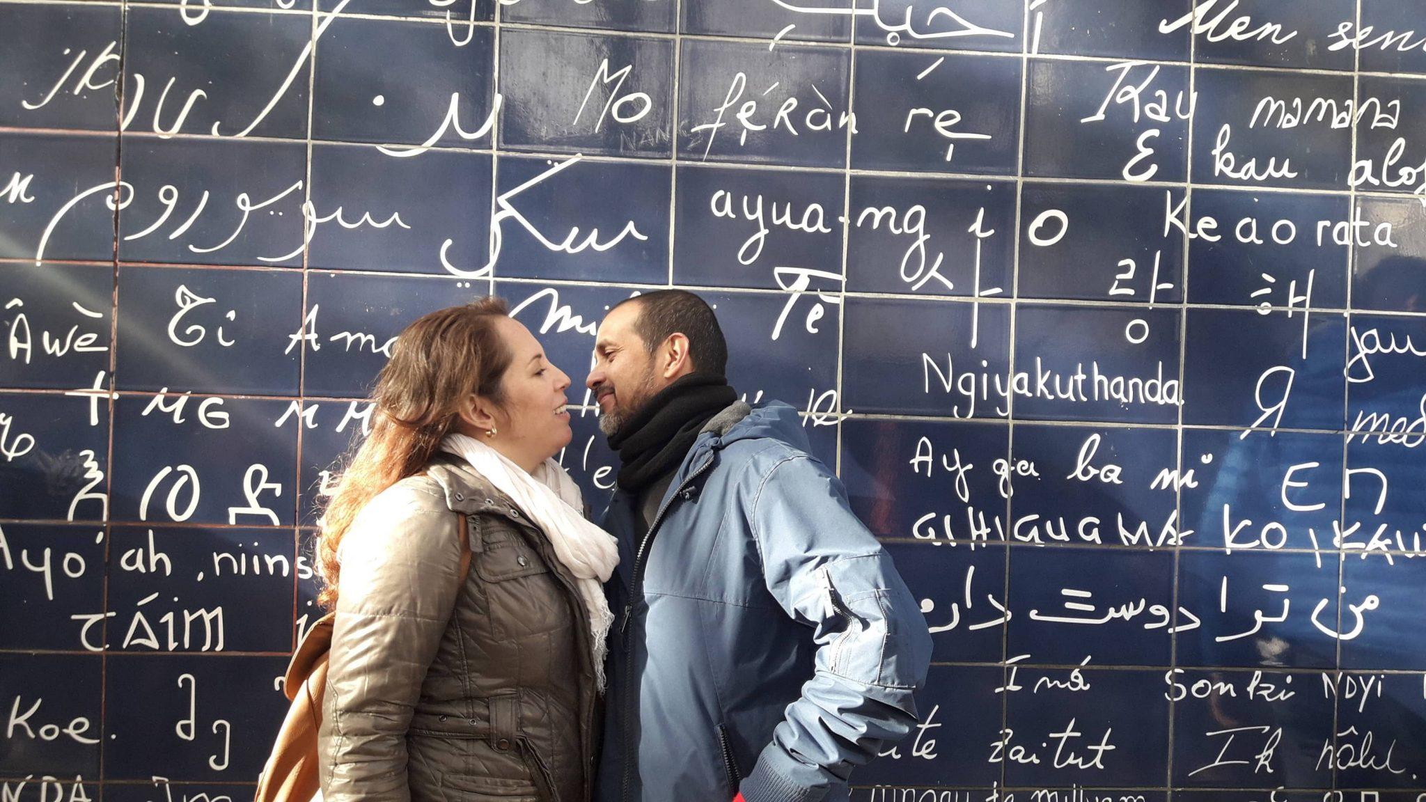 IV EEBB muro do eu te amo