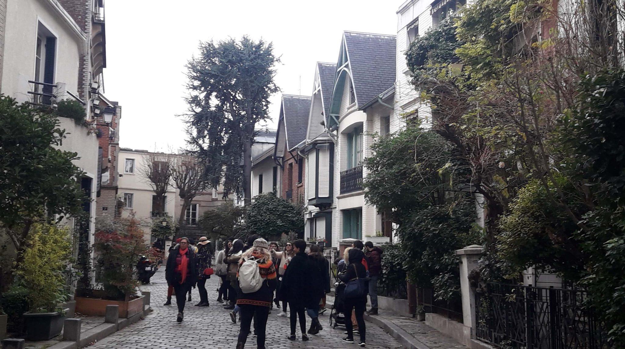 IV EEBB tour Montmartre