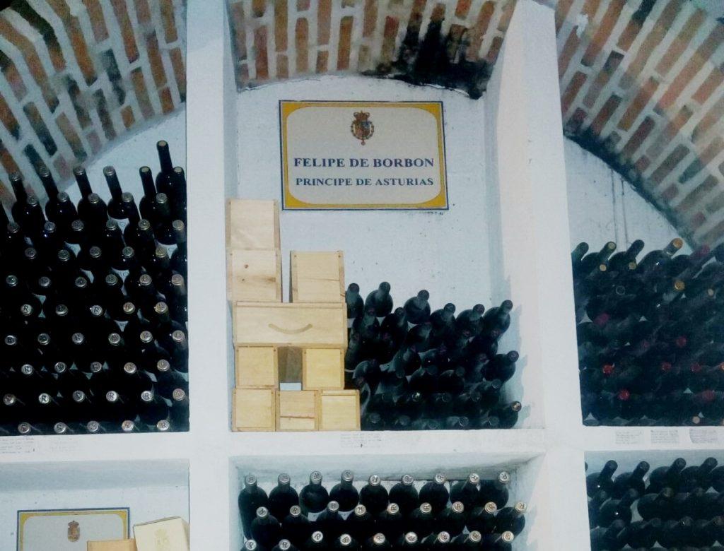 vinhos dos reis da Espanha