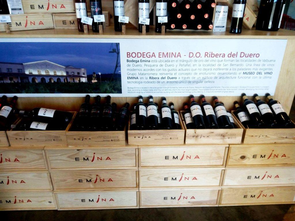 vinhos bodega emina