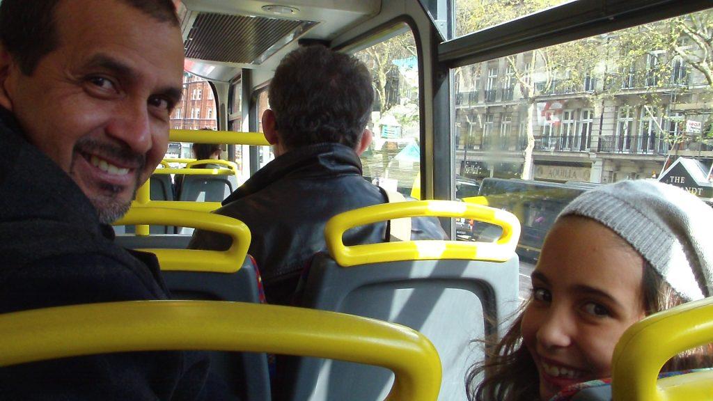 Passear em Londres de ônibus