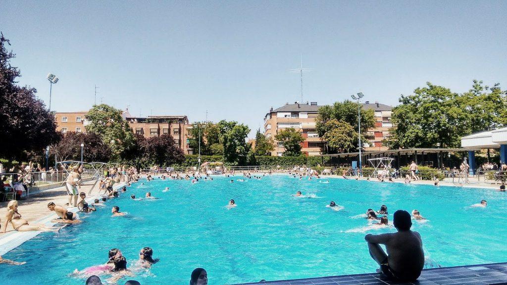 Piscinas públicas de Madrid
