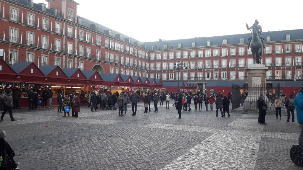 Plaza Mayor de Madrid no Natal