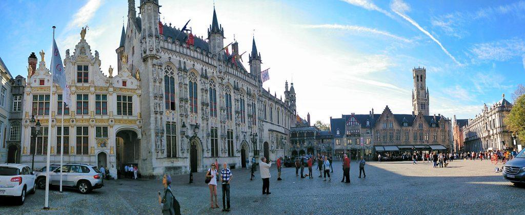 praça central de Bruges