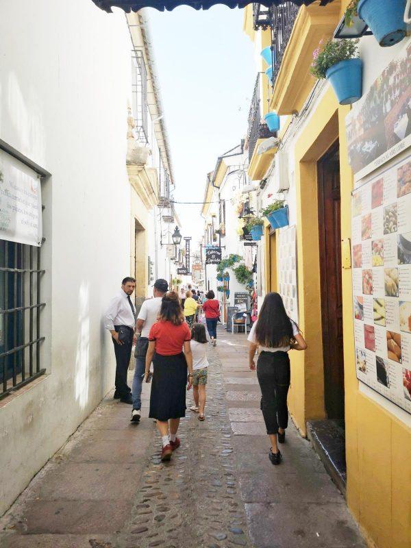 ruas da cidade de Cordoba Espanha