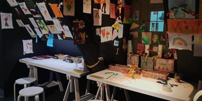 espaço para crianças casa de alijn roteiro na Bélgica