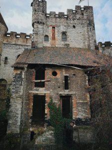 ruinas castelo gante