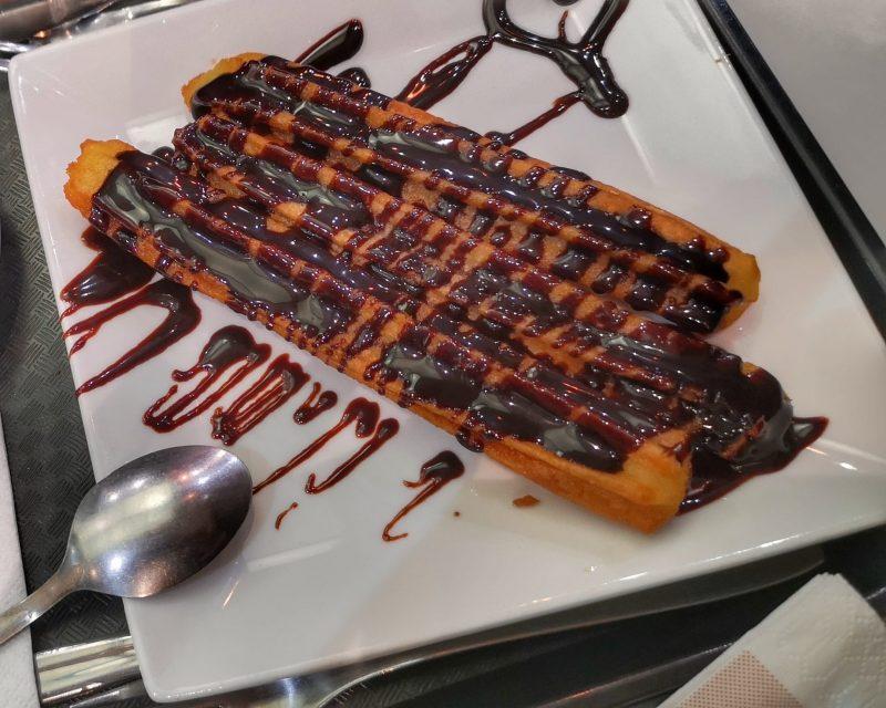 chocolate com churros em Madrid churrazo